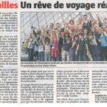 Article Journal L'ALSACE du 24 juillet 2014
